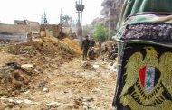 الجيش السوري يفك الطوق عن إدارة المركبات بحرستا ويواصل تطهير المنطقة