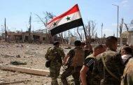 الجيس السوري يستعد لدخول حرستا.. المسلحين أحرقوا مقراتهم واستسلموا للباص الأخضر