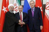 قمة ثلاثية محتملة بين بوتين وأردوغان وروحاني في أبريل
