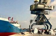 300 طن صادرات سورية تبحر إلى ليبيا برعاية اتحاد المصدرين..