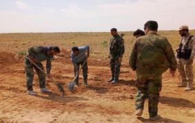 العثور على مقبرة جماعية لمدنيين في ريف حماة