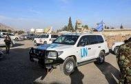 إطلاق نار على قافلة تابعة للأمم المتحدة في دوما بريف دمشق!