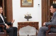 الرئيس الأسد في مقابلة مع صحيفة كاثيمرني اليونانية..