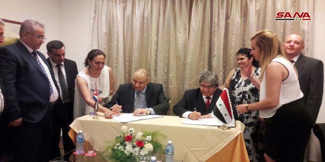أكثر من تبادل الأخبار.. اتفاقية بين سورية وكوبا للتعاون في مجال الدراما