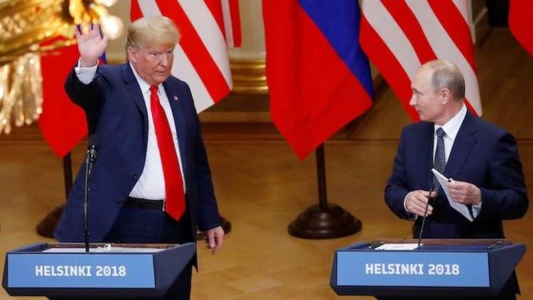 بوتين فاز على ترامب في هلسنكي بنتيجة واحد - صفر.. تفاصيل في هذا التقرير: