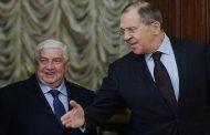 الخارجية الروسية: وليد المعلم يبحث في موسكو التسوية السياسية وعودة اللاجئين