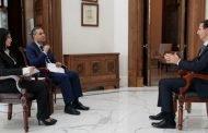 النص الكامل لحوار الرئيس الأسد مع قناتي السورية والاخبارية: