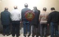 حلب: توقيف ستة أشخاص لتعاملهم بغير الليرة السورية.. وضبط ما بحوزتهم من أموال