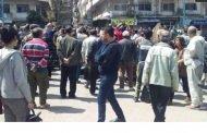 اللاذقية: احتجاج اصحاب البسطات وبائعي الخضار على قرار مجلس المدينة بنقل السوق