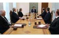المحافظون الخمسة الجدد يؤدون اليمين القانونية أمام رئيس الجمهورية